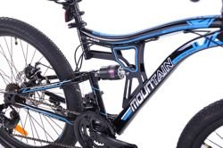 "MOUNTAIN FULL 24""  2XT FD/RD rower black/blue"
