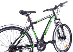 "MOUNTAIN TEAM RIDER 26"" LION stal.black/green"